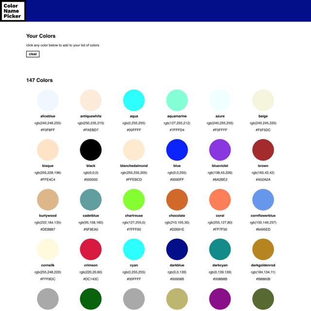 Colorname