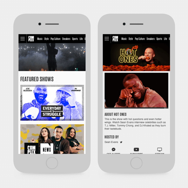 Complex Homepage